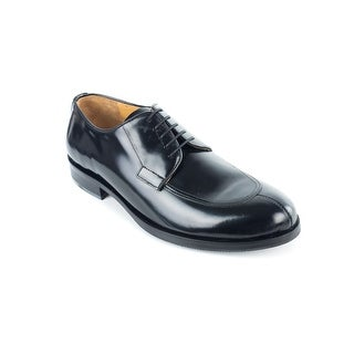 Bruno Magli Mens Black Amerix Leather Derbys Oxfords