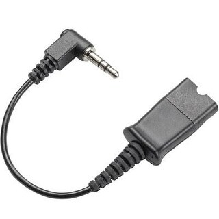 Plantronics - 40845-01 - 3.5Mm Plug To Q.D.