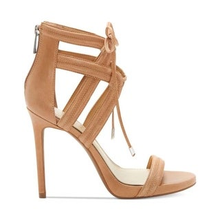 Jessica Simpson Womens Rensa Open Toe Ankle Strap Platform Pumps