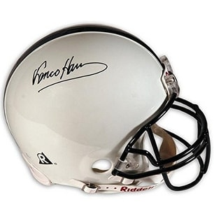 premium selection 8a07c 55c57 Franco Harris signed Penn State Nittany Lions Full Size Riddell NCAA Rep  Helmet black sig MAB HOLO