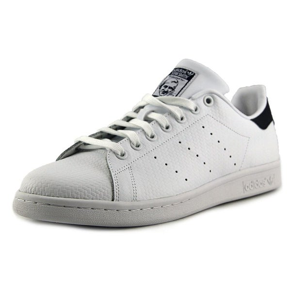 Adidas Stan Smith Round Toe Leather Sneakers