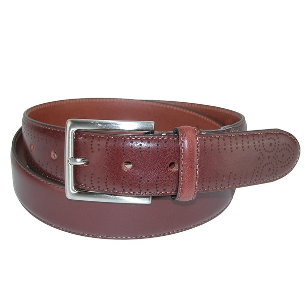 Boconi Men's Davis Perforated Belt