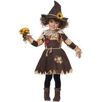 California Costumes Pumpkin Patch Scarecrow Toddler Costume - Brown