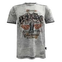 Harley-Davidson Men's Black Label Grind Short Sleeve Washed T-Shirt, Gray