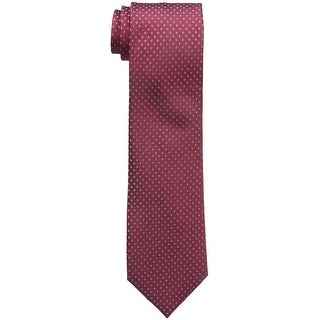 Kenneth Cole REACTION Men's Glitter Dot Open Occassion Silk Blen Necktie