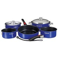 Magma  Nesting 10-Piece Induction Compatible Cookware Cobalt Blue