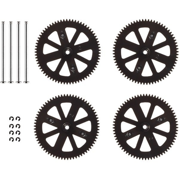 Parrot 070047Aa Gears & Shafts, Set Of 4