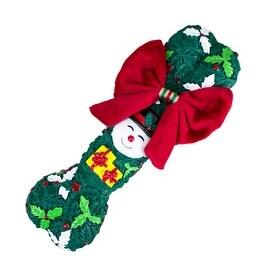 Merry Christmas Berry Bone Dog Present Toy