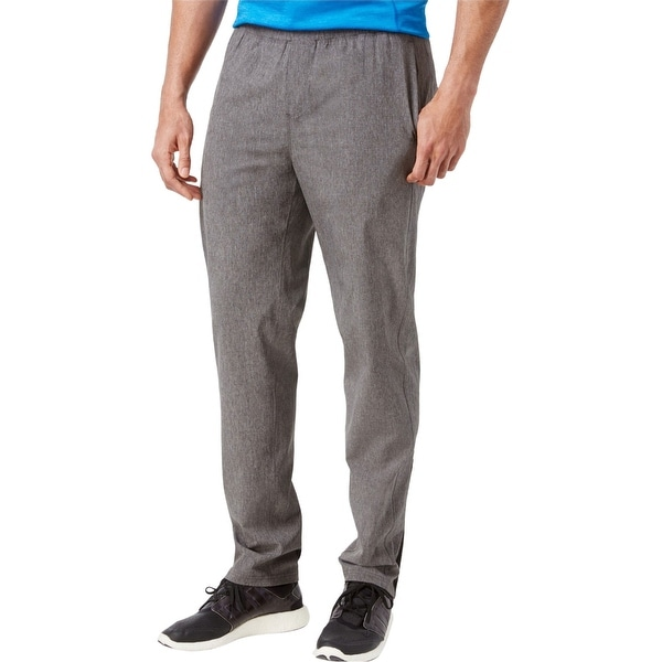 Ideology Mens Tapered Athletic Track Pants, Grey, Small. Opens flyout.
