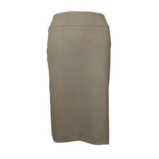Tahari Women's Basic Woven Mike Skirt
