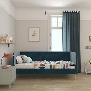 Link to Avenue Greene Flint Velvet Mid-century Daybed Similar Items in Kids' & Toddler Furniture