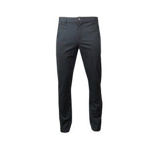 Argyleculture Men's Twill Lyrca Pants - Navy - 36wx34l
