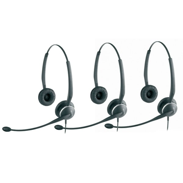Jabra GN2125 Duo NC Headset W/ ATL Technology (3-Pack)