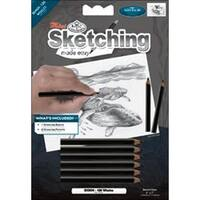 """Whales - Sketching Made Easy Mini Kit 5""""X7"""""""