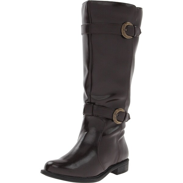 David Tate NEW Brown Women's Shoes Size 7W Mustang Knee High Boot