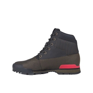 Creative Recreation Torello Boots in Military Black Primary Red