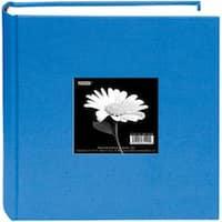 """Sky Blue - Cloth Photo Album W/Frame 9""""X9"""""""