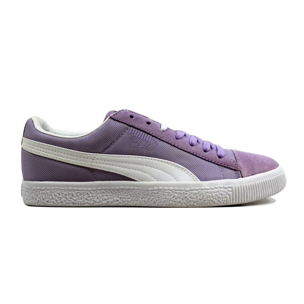 Puma Men  x27 s Clyde X Undftd Ballistic CB Orchid Bloom Purple White353920 f3e4e84770