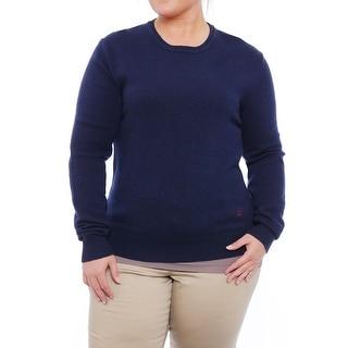 Valentino Long Sleeve Crew Neck Sweater Women Regular Sweater