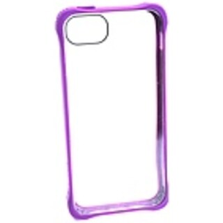 Griffin Survivor Clear for iPhone 5 - iPhone - Clear, Purple - (Refurbished)