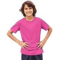 Hanes Cool DRI® Youth T-Shirt - Size - L - Color - Wow Pink