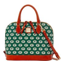 Dooney & Bourke NFL Green Bay Packers Zip Zip Satchel (Introduced by Dooney & Bourke at $248 in Aug 2016)