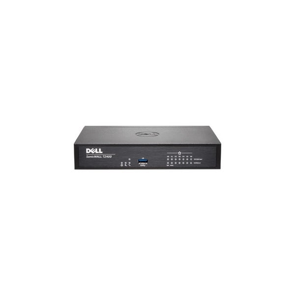 SonicWall 01-SSC-0507 SonicWALL TZ400 Network Security/Firewall Appliance - 7 Port - 10/100/1000Base-T Gigabit Ethernet -