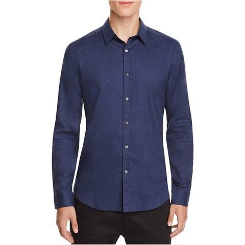 Theory Mens Zack Button Up Shirt