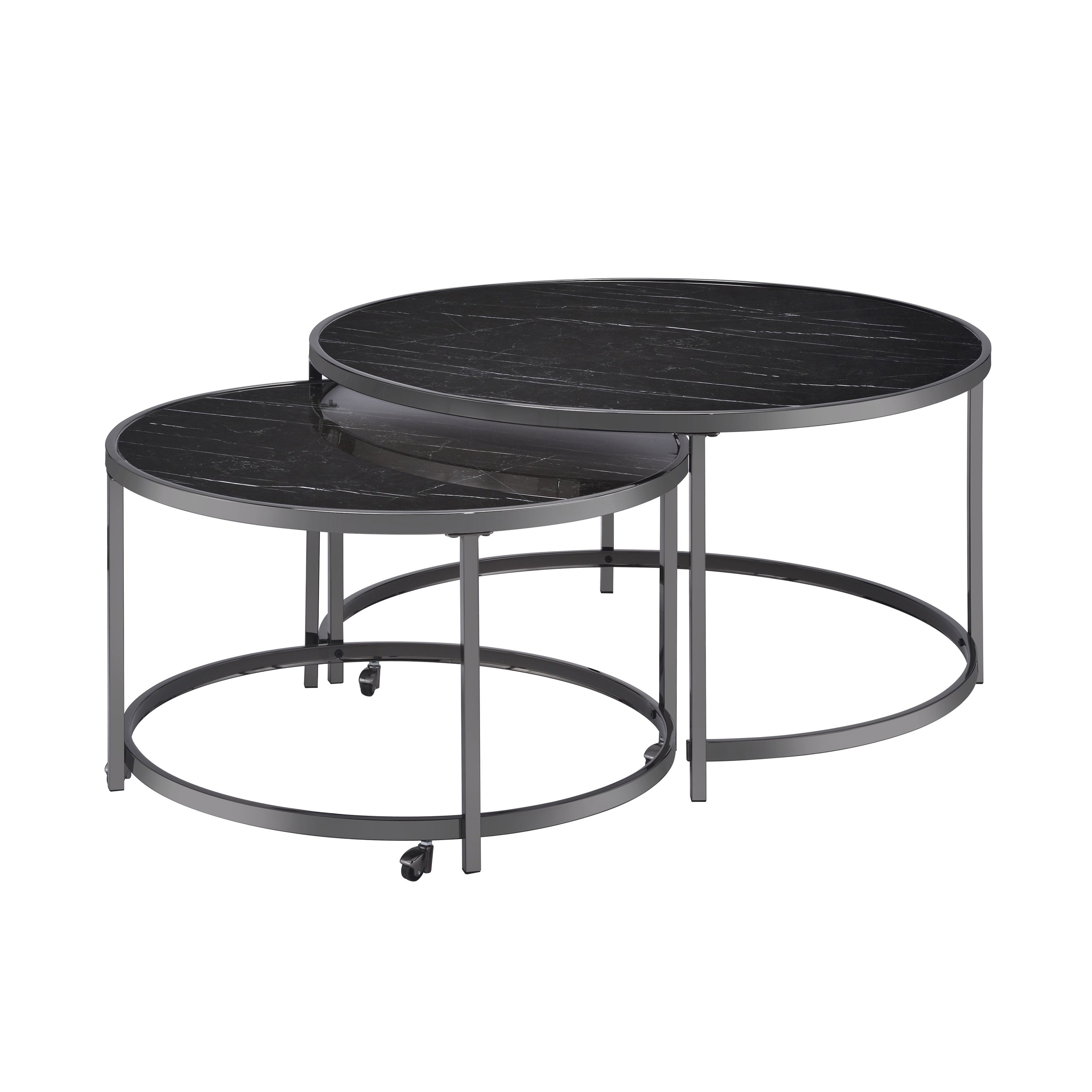 Picture of: Shop Carbon Loft Rheems Nesting Coffee Tables Overstock 31473309