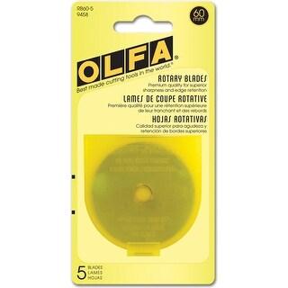Rotary Blade Refills-60mm 5/Pkg