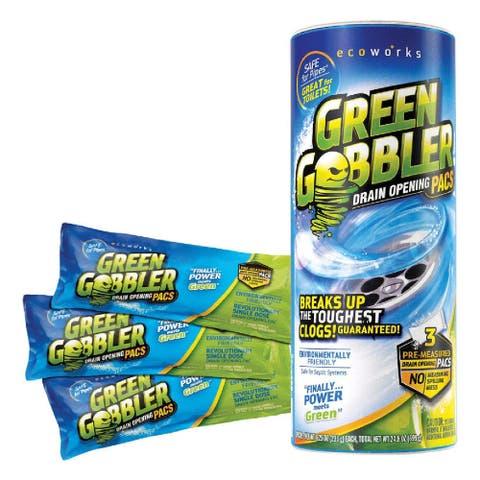 Green Gobbler GGDC3S ecoworks Drain Opener Pacs