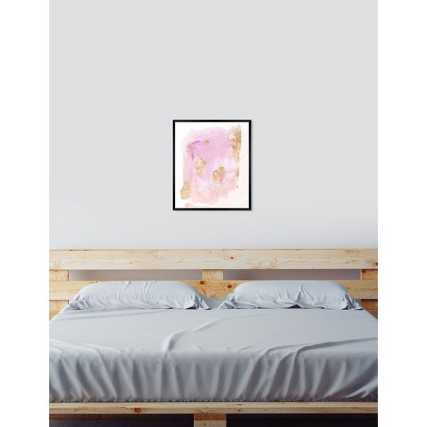 Oliver Gal 'Pink Wednesdays' Abstract Framed Wall Art Print. Opens flyout.