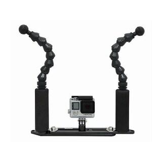 Bigblue Flexi Arm Extend Tray Connector Black