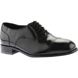 Florsheim Men's Lexington Cap Toe Black