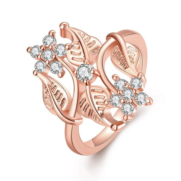 Natural Branches Rose Gold Ring