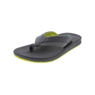 Sanuk Mens Brumeister Flip-Flops Thongs U-Lounge