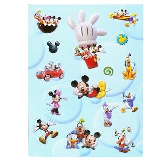 Mickey Mouse Clubhouse Raised Stickers