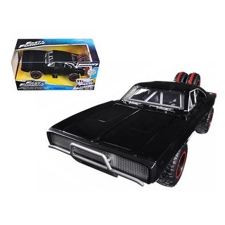 Dom\'s 1970 Dodge Charger R/T Off Road Version Fast & Furious 7 Movie 1/24 Diecast Model Car by Jada