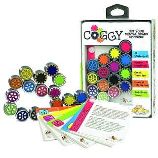 Children's Fat Brain Toys Coggy Folding Clicking Puzzle Gears Toy And Game - Black