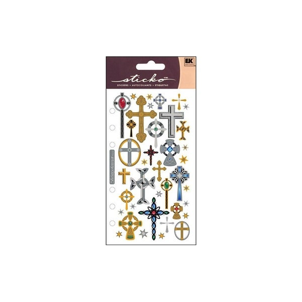 EK Sticko Sticker Crosses