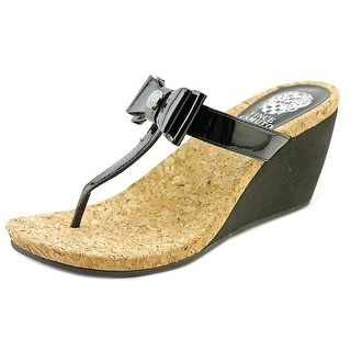 Vince Camuto Mable Women Open Toe Synthetic Wedge Sandal