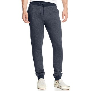 American Rag NEW Blue Black Sea Marled Mens Size 4XLT Knit Jogger Pants