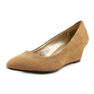 Bandolino Franci Open Toe Canvas Wedge Heel (Option: 10.5)