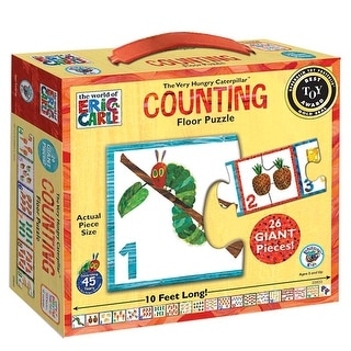 The Very Hungry Caterpillar Counting 26 Piece Floor Pu