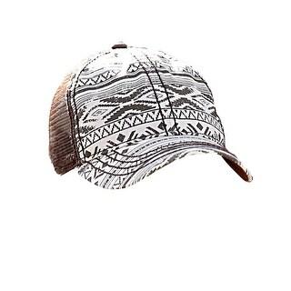 Cruel Girl Western Hat Girls Trucker Adjustable Snap Brown CCC0033005