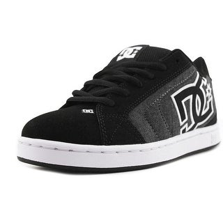 DC Shoes Net SE   Round Toe Leather  Skate Shoe