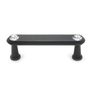 Alno C214-3 Crystal 3 Inch Center to Center Bar Cabinet Pull