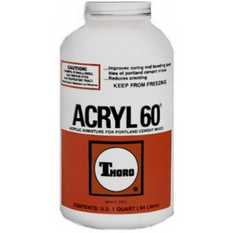 Thoro T1668 Acryl 60 Cement Bonding Agent, 1 qt
