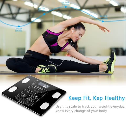 Digital Body Weighting Scale Health Analyser Fat Muscle BMI