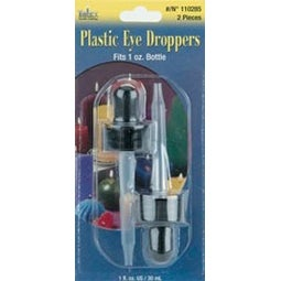 Plastic Eye Droppers 2/Pkg-